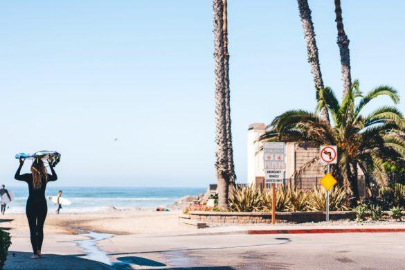 San Diego surfen
