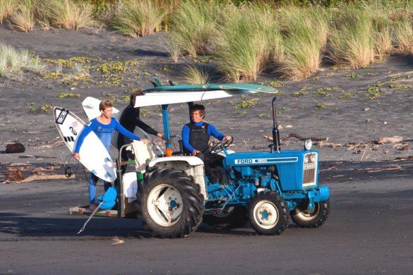 Neuseeland Nordinsel - Route zum Surfen