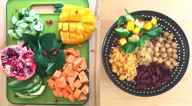 Vegane Ernährung_ Buddha Bowl