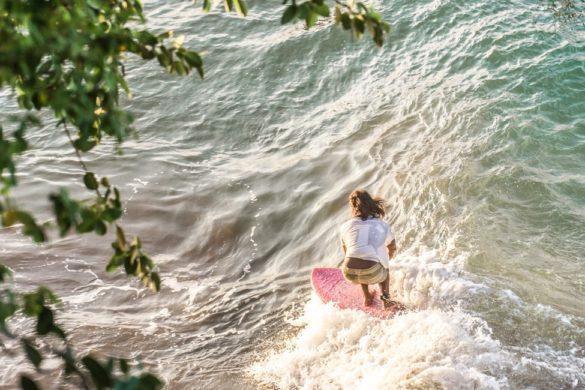 West Java Surfer