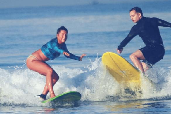 Wellenreiter - Anfänger auf Bali