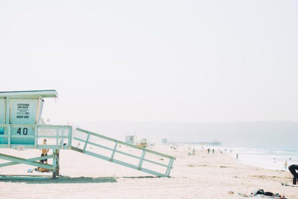 Los Angeles surfen