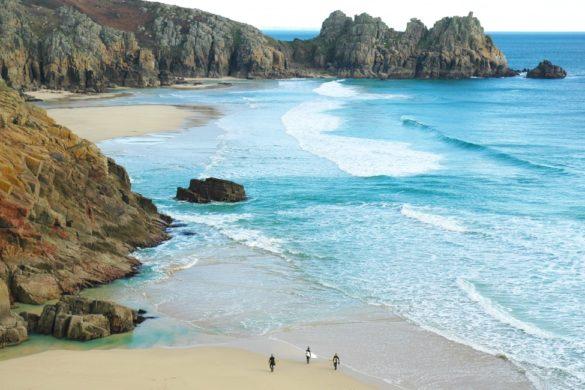 Cornwall surfen