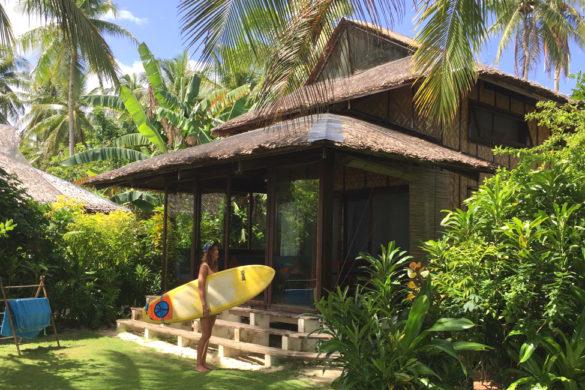Strandhaus für Surfer