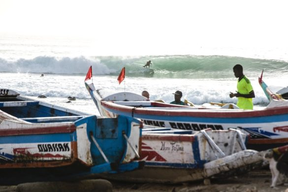 Senegal Surfen - Ngor Island
