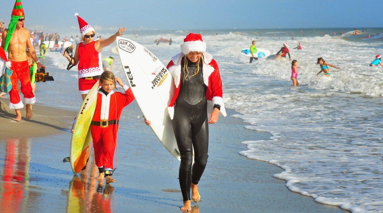 Weihnachtsbräuche aus aller Welt - Surfen