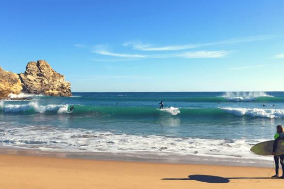 Algarve im Winter surfen