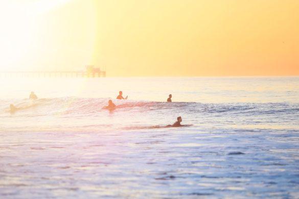 Line Up - Surfregeln Surfetikette Surftypen