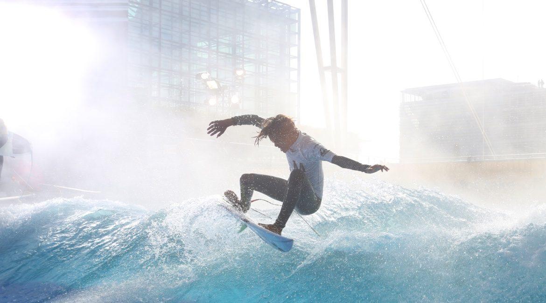 Stehende Welle surfen - Citywave.de