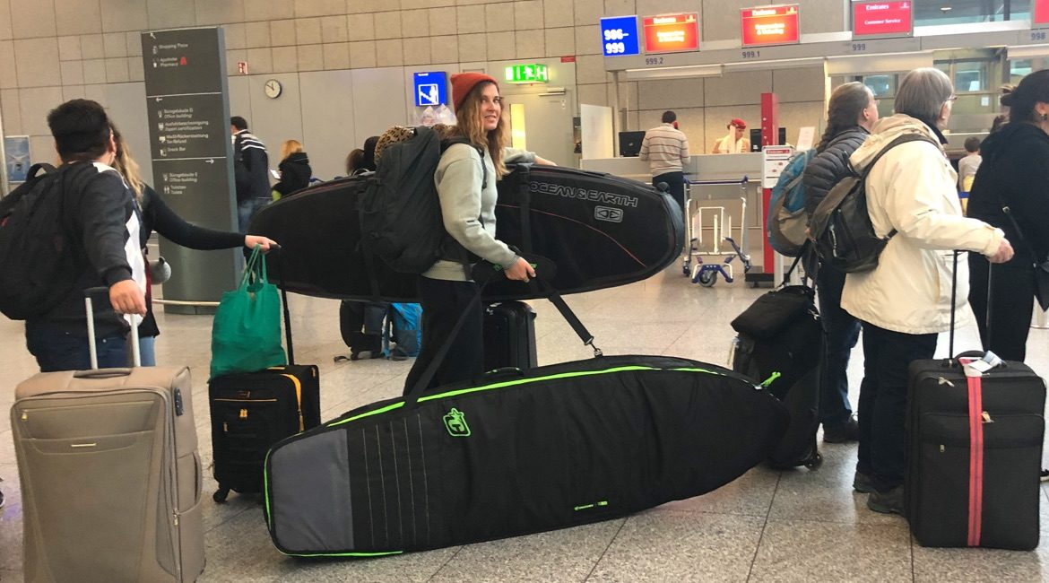 Boardbag Guide - Reisen mit Surfboard