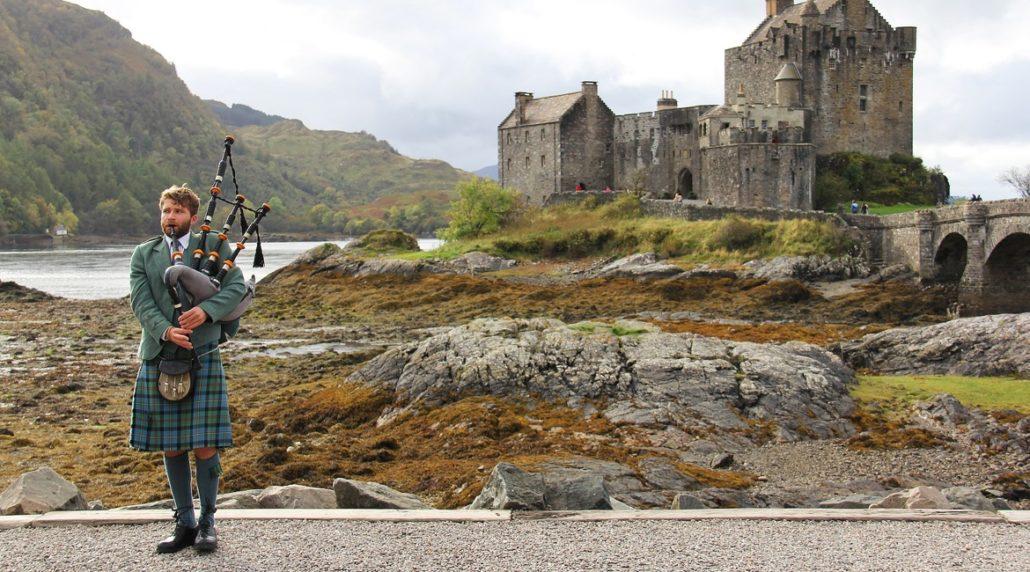 Schottland Kilt Sporran