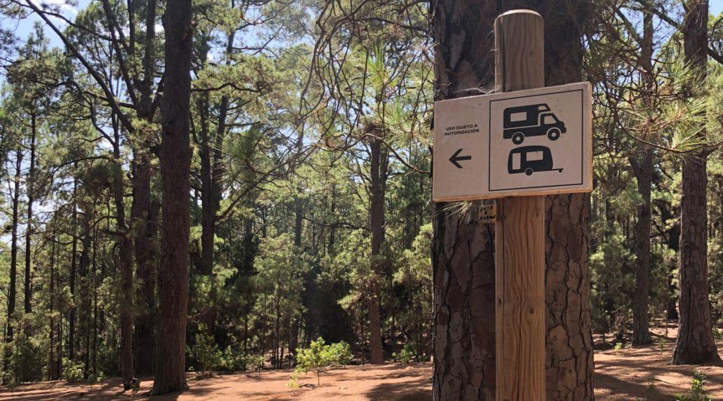Teneriffa - nachhaltig reisen - Campervan