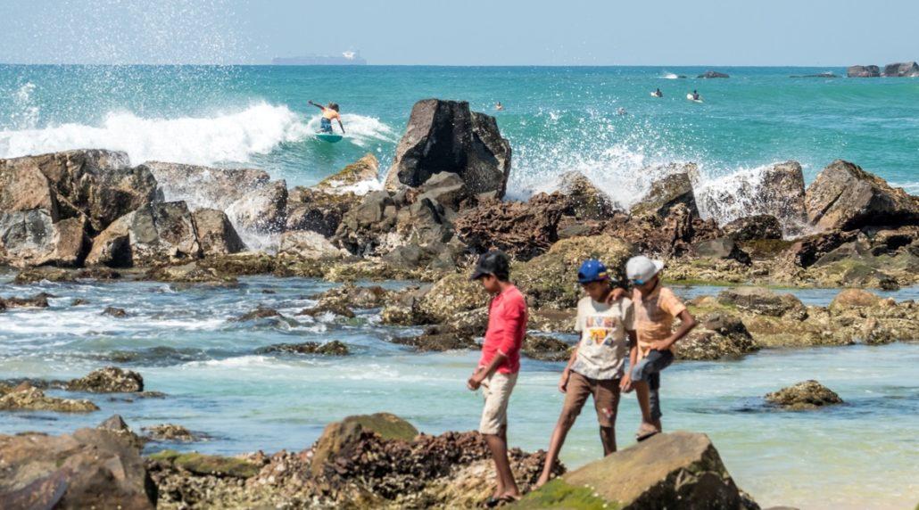 Sri Lanka Urlaub - Surfen