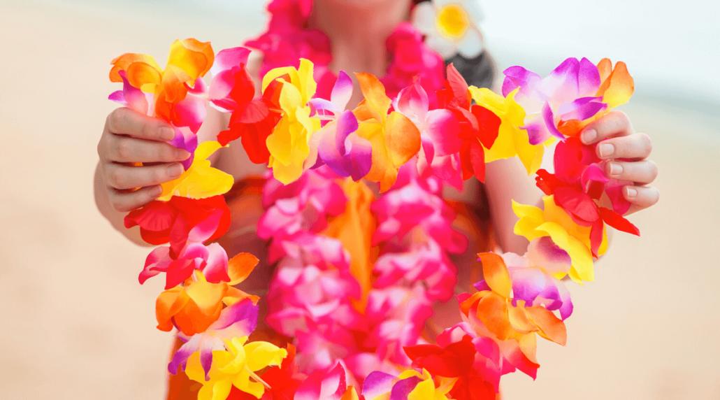 Hawaii surfen - Lei