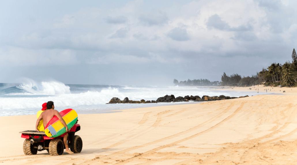 Hawaii surfen - Surfboard leihen