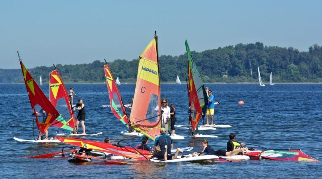 Windsurfen lernen - Windsurf-Schule