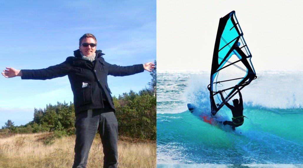 Windsurfen lernen - Burkhard von Windstärke 7