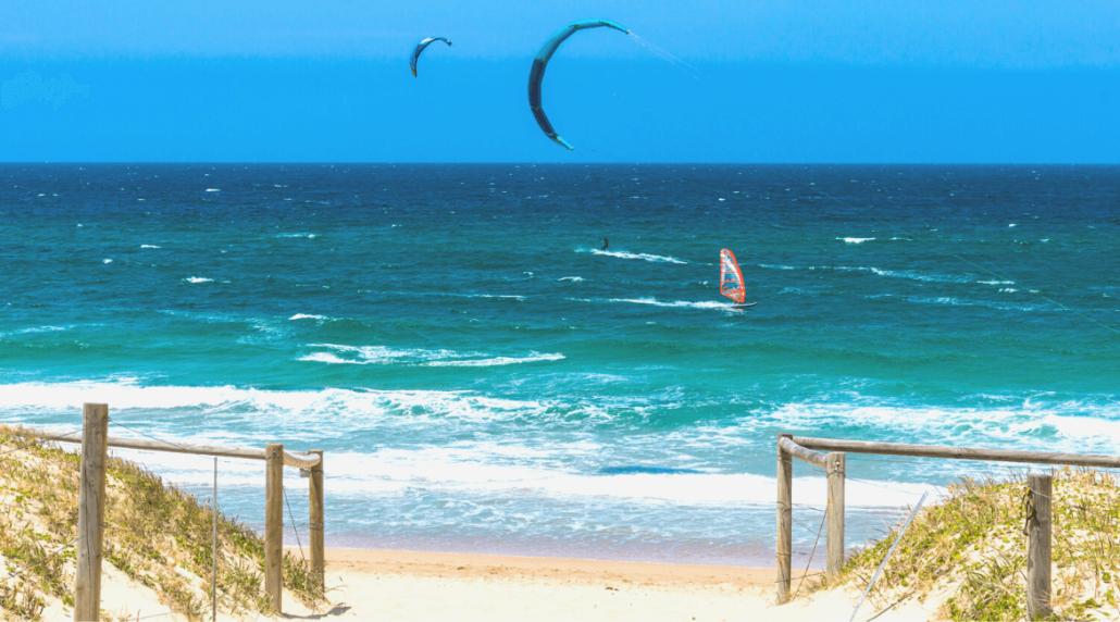 Windsurfen lernen - Spots an der Nordsee