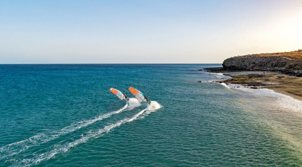 Windsurfen lernen - Adrenalin