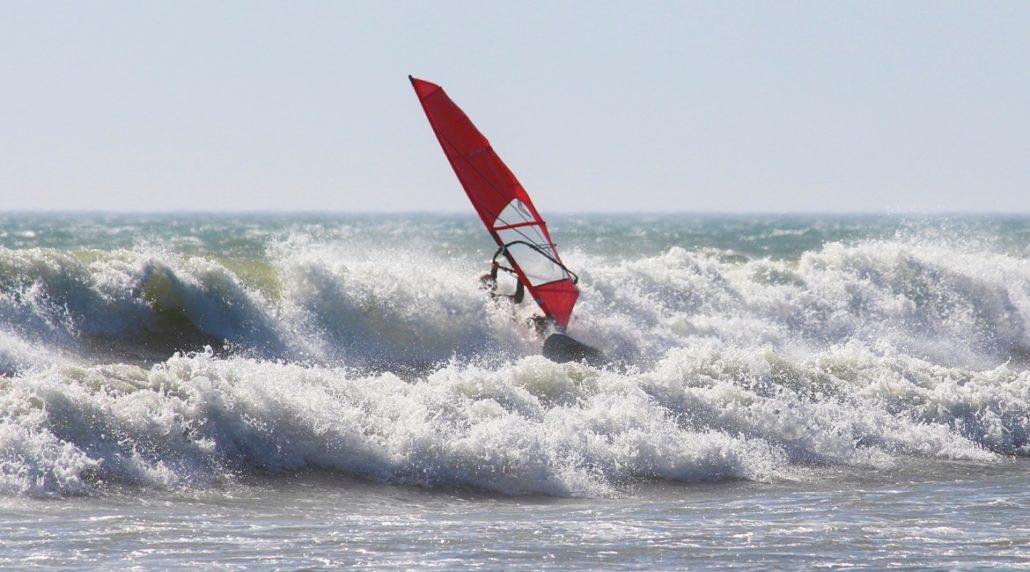Windsurfen lernen - Gefahren