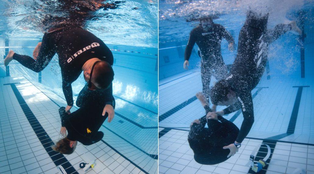 Apnoe Kurs für Surfer: Wipe Out Training