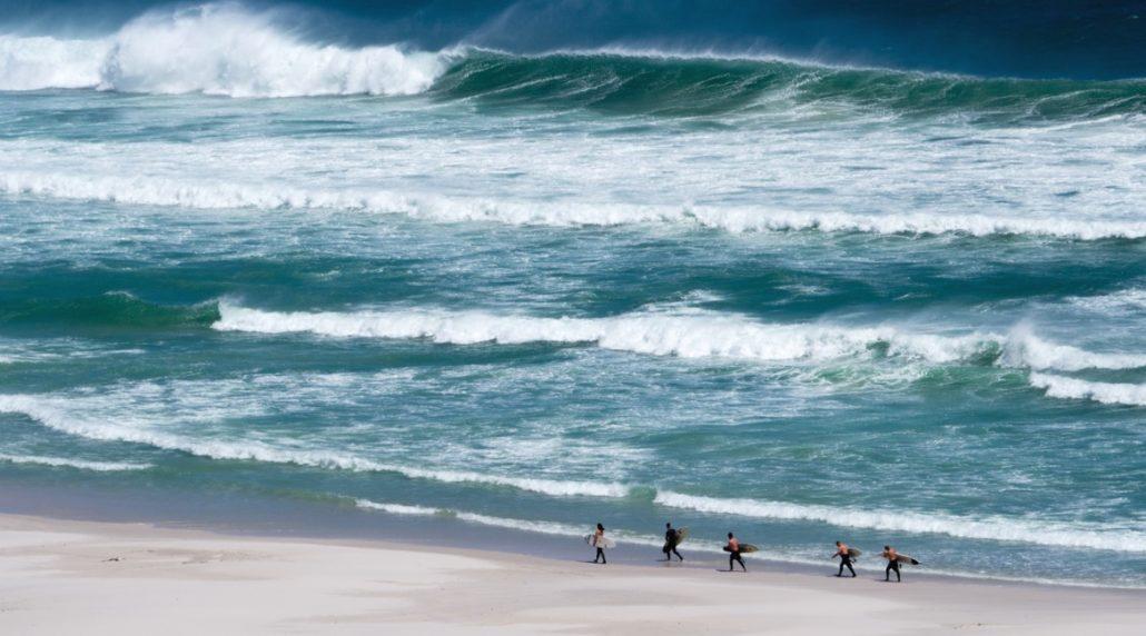 Kapstadt surfen - Big Swell