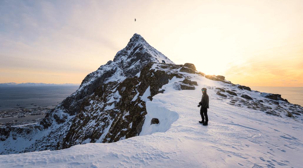 Skottinden Lofoten by Felix Inden