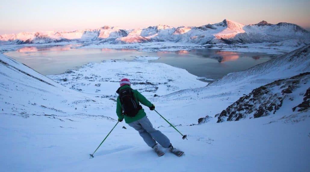 Lofoten - Wintersport