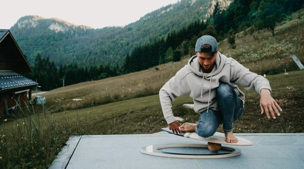 Balance Board - Bredder - Surfen